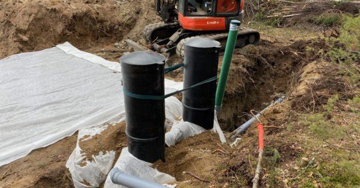 Minkälainen jätevesijärjestelmä saareen? Kesämökille valittiin Labko BioRami 500 -harmaavesipuhdistamo