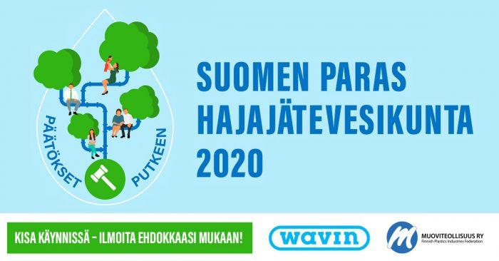 Onko mökki- tai kotikuntasi Suomen paras hajajätevesikunta? Ehdota mukaan kilpailuun